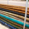 Bambú decorativo de diferentes colores