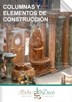 Columnas y elementos de construcción