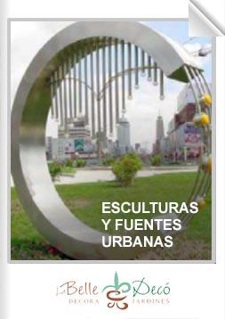 Esculturas y fuentes urbanas