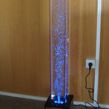 lámpara decoración burbujas
